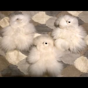 Other - Mini Alpaca Fur Teddy Bear -NEW!!
